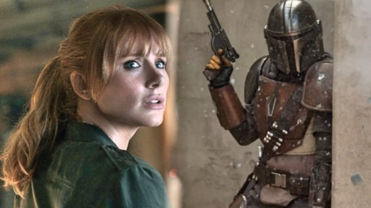 Bryce Dallas Howard compartilha foto dos bastidores de The Mandalorian