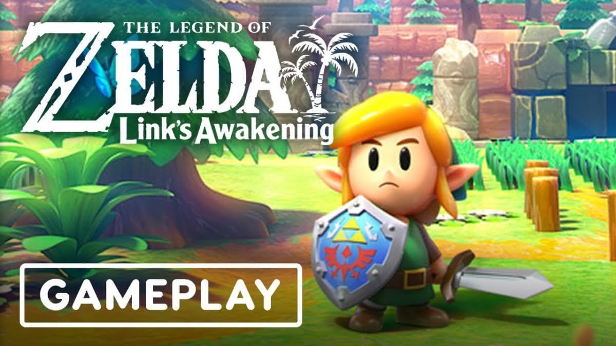 Veja um novo vídeo do gameplay de The Legend of Zelda: Link's Awakening