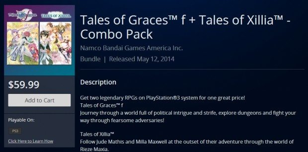 Tales of Graces F Tales of Xillia